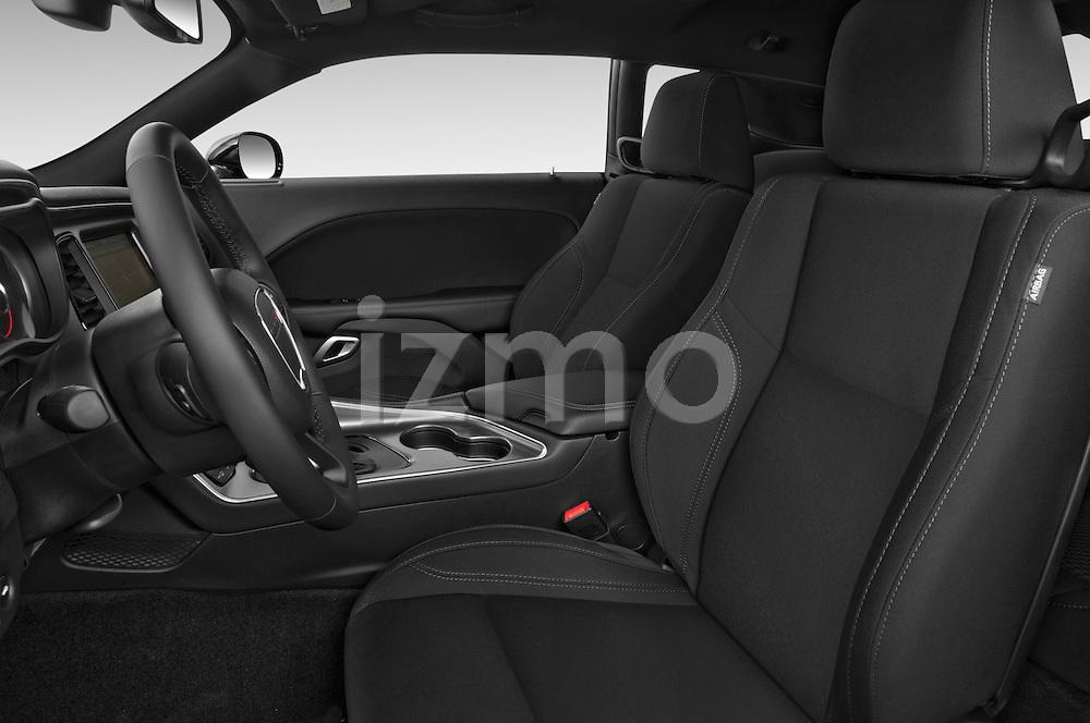 Front seat view of 2017 Dodge Challenger SXT 2 Door Coupe Front Seat  car photos
