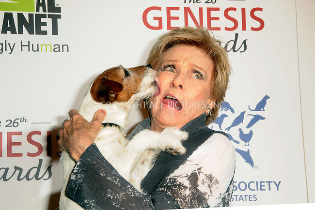 WWW.ACEPIXS.COM . . . . .  ....March 24 2012, LA....Eggy and Cloris Leachman arriving at the 26th Annual Genesis Awards at The Beverly Hilton Hotel on March 24, 2012 in Beverly Hills, California. ....Please byline: PETER WEST - ACE PICTURES.... *** ***..Ace Pictures, Inc:  ..Philip Vaughan (212) 243-8787 or (646) 769 0430..e-mail: info@acepixs.com..web: http://www.acepixs.com