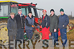 REPAIRS: Given Mike P Donegan causeway a helping hand on Sunday at the Ardfert Ploughing competition on Mike McCarthy's Field, Ballymacquinn, Ardfert, L-r: Thomas Healy, Michael P Donegan, Michael J Donegan, Patrick Boyle, Jim Healy and Pa Lucid.