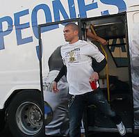 32.05.2012 SPAIN - 2012 Spain Festival celebration champion Real Madrid La Liga 32nd May 03rd. The picture show  Kepler Laveran Pepe (Portuguese/Brazilian defender of Real Madrid)