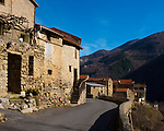 The Village of Py, on the way to Mantet, Pyrenees, France