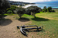 Mossel Bay lies on the Indian Ocean coast of South Africa and is part of the Garden Route. View from the Maritime Museum.