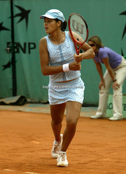 20030602, Paris, Tennis, Roland Garros,  Ivanovic