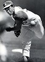 A's pitcher Vida Blue .(copyright 1971 Ron Riesterer)