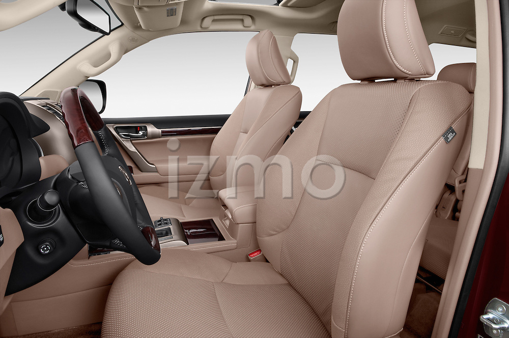 Front seat view of 2018 Lexus GX 460 5 Door SUV Front Seat  car photos