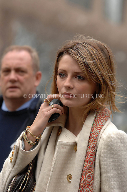 Mischa Barton goes out and about  in Manhattan with her dog  on March  13, 2007