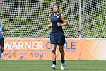 26 April 2008: Hope Solo. The United States Women's National Team held a training session on Field 3 at WakeMed Soccer Park in Cary, NC.