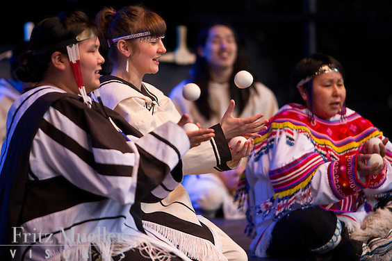 Artcirq performs at Pan-North Showcase at the Vancouver Olympics in Richmond