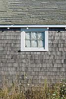 Rustic coastal shack.