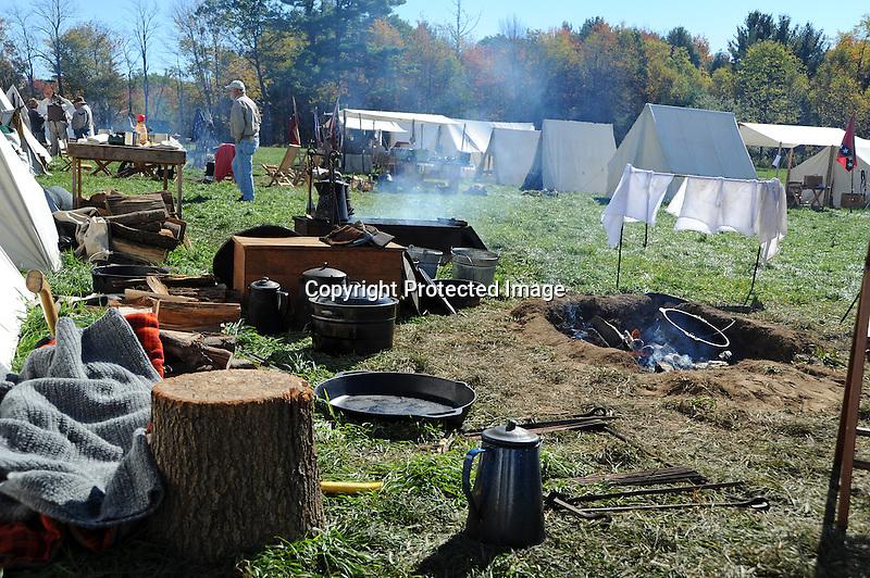 Civil War Reenactment Confederate Camp Kitchen