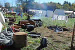 Civil War Reenactment Confederate Camp Kitchen