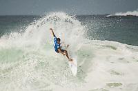 RIO DE JANEIRO, RJ, 14.05.2015 - MUNDIAL DE SURF - O brasileiro David do Carmo participa do Oi Rio Pro, etapa brasileira do circuito mundial da Wolrd Surf League (WSL), na praia da Barra da Tijuca, na zona oeste, nesta quinta-feira (14). (Foto: João Mattos / Brazil Photo Press)