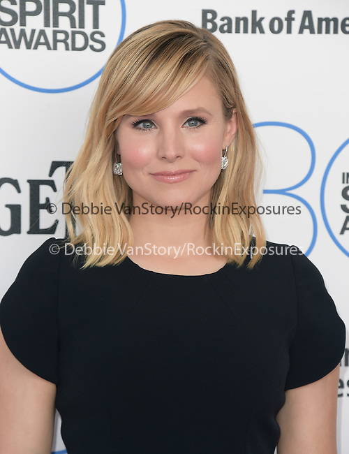 Kristen Bell Shepard <br />  attends 2015 Film Independent Spirit Awards held at Santa Monica Beach in Santa Monica, California on February 21,2015                                                                               © 2015Hollywood Press Agency
