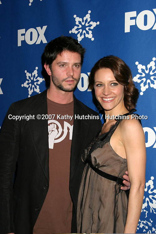 Jason Behr & KaDee Strickland.Fox Television Critics Association Press Tour Party.Pasadena   CA.January 20, 2007.©2007 Kathy Hutchins / Hutchins Photo.