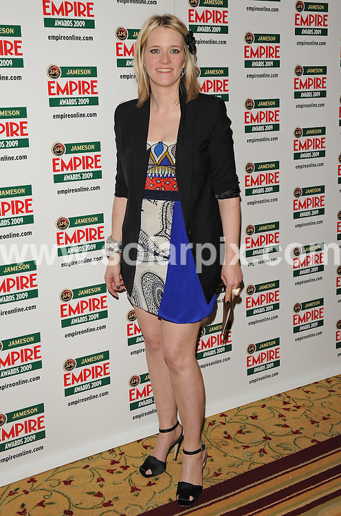 **ALL ROUND PICTURES FROM SOLARPIX.COM**.**WORLDWIDE SYNDICATION RIGHTS**.arrivals for The Empire Film Awards, Grosvenor House Hotel, London, UK. 29 March 2009..This pic: Edith Bowman..JOB REF:  8740 SSD     DATE: 29_03_2009.**MUST CREDIT SOLARPIX.COM OR DOUBLE FEE WILL BE CHARGED**.**ONLINE USAGE FEE GBP 50.00 PER PICTURE - NOTIFICATION OF USAGE TO PHOTO @ SOLARPIX.COM**.**CALL SOLARPIX : +34 952 811 768 or LOW RATE FROM UK 0844 617 7637**