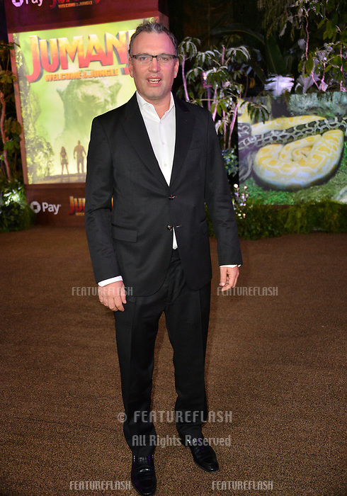 "Henry Jackman at the Los Angeles premiere of ""Jumanji: Welcome To the Jungle"" at the TCL Chinese Theatre, Hollywood, USA 11 Dec. 2017<br /> Picture: Paul Smith/Featureflash/SilverHub 0208 004 5359 sales@silverhubmedia.com"