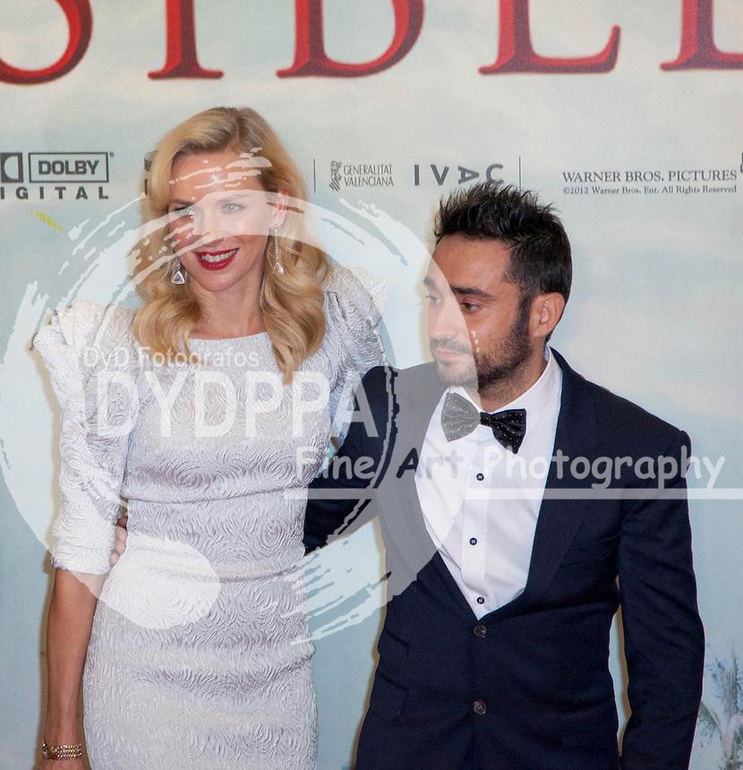 """08/10/2012 Madrid, Spain, Cine Kinepolis, Premiere """"The Impossible"""" """"Lo Imposible"""", Naomi Watts, Juan Antonio Bayona, (C) Nacho Lopez/ DyD Fotografos"""