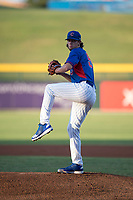 AZL Cubs starting pitcher Blake Whitney (59) delivers a pitch during an Arizona League game against the AZL Brewers at Sloan Park on June 29, 2018 in Mesa, Arizona. The AZL Cubs 1 defeated the AZL Brewers 7-1. (Zachary Lucy/Four Seam Images)