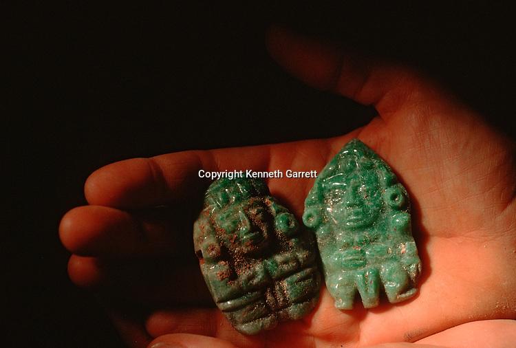 Maya; Ancient Cultures; The Americas; Copan; Honduras; Jade; Margarita Tomb