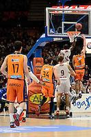 Van Rossom vs Diagne<br /> Liga Endesa ACB - 2014/15<br /> J17<br /> Valencia Basket vs Montakit Fuenlabrada