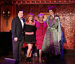 Lee Roy Reams, Andrea McArdle, Maria Friedman and Jay Armstrong Johnson aka Winfred Sanderson attend the Feinstein's/54 Below Press Preview on September 20, 2017 at Feinstein's/54 Below in New York City.