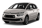 2018 Citroen C4 Spacetourer Business + 5 Door MPV angular front stock photos of front three quarter view