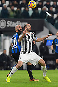 9th December 2017, Allianz Stadium, Turin, Italy; Serie A football, Juventus versus Inter Milan; Giorgio Chiellini controls high ball