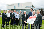 The Launch of the Friends Of University Hospital Kerry Annual Gala Benefit Night sponsored by Kerry Group on Friday 8th July 2016 at the Kingdom Greyhound Stadium Tralee Front l-r  John O'Regan, Kerry District League, Padraig Mallen, Kerry Group, Liam Brassil, Friends Of University Hospital Tralee and Terry Higgins, IGB. Back l-r  Tom McCormack, University Hospital Tralee, Willie Cleary, Fundraiser, Richard Horgan, Consultant Gynaecologist and Obstetrician, Kieran Casey, IGB, Denis Guerin, KDL South and PJ Hayes, Chairman Friends Of University Hospital Kerry