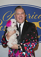 POMONA, CA - FEBRUARY 10: Ross Mathews, at the Hallmark Channel's 2019 American Rescue Dog Show at Fairplex in Pomona, California on February 10, 2019. Credit: Faye Sadou/MediaPunch