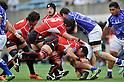 (L to R) Takashi Kikutani (JPN), Hitoshi Ono (JPN), Yuta Mochizuki (JPN),.JUNE 17, 2012 - Rugby : IRB Pacific Nations Cup 2012 match between Japan 26-27 Samoa at Chichibunomiya Rugby Stadium, Tokyo, Japan. (Photo by Jun Tsukida/AFLO SPORT) [0003]