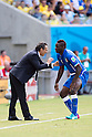 (L-R) Cesare Prandelli, Mario Balotelli (ITA), JUNE 24, 2014 - Football / Soccer : FIFA World Cup Brazil 2014 Group D match between Italy 0-1 Uruguay at Estadio das Dunas in Natal, Brazil. (Photo by Maurizio Borsari/AFLO)