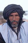 Portrait de Didi, le chamelier. Mauritanie. AfriqueDidi, the camel driver. Mauritania. Africa
