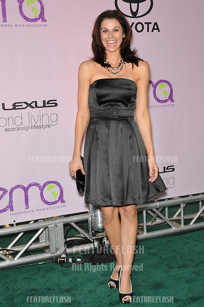 Jennifer Taylor at the 20th anniversary Environmental Media Awards at Paramount Studios, Hollywood..October 25, 2009  Los Angeles, CA.Picture: Paul Smith / Featureflash
