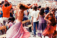 Twirlers as seen at the Grateful Dead Concert, RFK Stadium June 14, 1991
