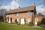 Semi-detached village houses, Shottisham, Suffolk