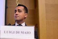 Roma, 31 Maggio 2017<br /> Luigi Di Maio.<br /> Convegno del Movimento 5 Stelle sulla Giustizia: Questioni e visioni di Giustizia- Prospettive di riforma