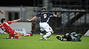 23/09/2008  Copyright Pic: James Stewart.File Name : sct_jspa06_falkirk_v_qots.STEVE LOVELL SCORES FALKIRK'S SECOND.James Stewart Photo Agency 19 Carronlea Drive, Falkirk. FK2 8DN      Vat Reg No. 607 6932 25.Studio      : +44 (0)1324 611191 .Mobile      : +44 (0)7721 416997.E-mail  :  jim@jspa.co.uk.If you require further information then contact Jim Stewart on any of the numbers above........