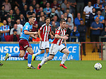 John Fleck of Sheffield Utd during the English League One match at Glanford Park Stadium, Scunthorpe. Picture date: September 24th, 2016. Pic Simon Bellis/Sportimage