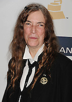 BEVERLY HILLS, CA - FEBRUARY 09: Patti Smith  arrives at the The 55th Annual GRAMMY Awards - Pre-GRAMMY Gala And Salute To Industry Icons Honoring L.A. Reid at the Beverly Hilton Hotel on February 9, 2013 in Beverly Hills, California.PAP0213JP405.PAP0213JP405. Nortephoto