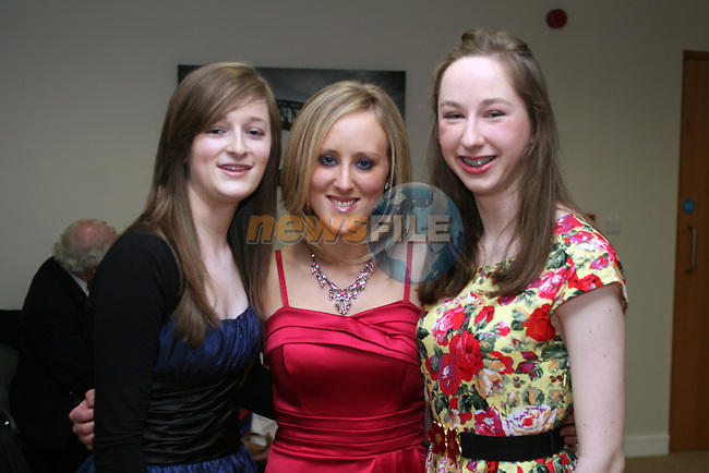 Laura Smith, Klara Bolger and Eithne Nic An Ríogh at the Opening Gala Night at the Barbican in aid of Cystic Fibrosis...Photo NEWSFILE/Jenny Matthews.(Photo credit should read Jenny Matthews/NEWSFILE)....This Picture has been sent you under the condtions enclosed by:.Newsfile Ltd..The Studio,.Millmount Abbey,.Drogheda,.Co Meath..Ireland..Tel: +353(0)41-9871240.Fax: +353(0)41-9871260.GSM: +353(0)86-2500958.email: pictures@newsfile.ie.www.newsfile.ie.FTP: 193.120.102.198.