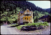 Restored residence in Rico.<br /> Rico, CO  ca. 1976