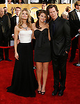 LOS ANGELES, CA. - January 25: Actress Kyra Sedgwick, actress Sosie Bacon and actor Kevivn Bacon arrive at the 15th Annual Screen Actors Guild Awards held at the Shrine Auditorium on January 25, 2009 in Los Angeles, California.