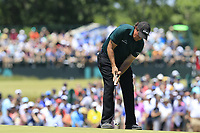 Phil Mickelson (USA) putts on the 7th green during Saturday's Round 3 of the 118th U.S. Open Championship 2018, held at Shinnecock Hills Club, Southampton, New Jersey, USA. 16th June 2018.<br /> Picture: Eoin Clarke | Golffile<br /> <br /> <br /> All photos usage must carry mandatory copyright credit (&copy; Golffile | Eoin Clarke)