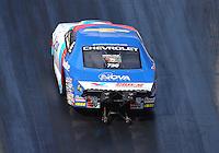 Jun 17, 2016; Bristol, TN, USA; NHRA pro stock driver Shane Gray during qualifying for the Thunder Valley Nationals at Bristol Dragway. Mandatory Credit: Mark J. Rebilas-USA TODAY Sports