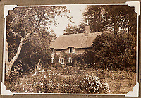 BNPS.co.uk (01202 558833)<br /> Pic: ForumAuctions/BNPS<br /> <br /> Hardy's cottage in 1890 - the author was born there in 1840.<br /> <br /> The National Trust, which owns the picturesque cottage near Dorchester, Dorset, has closed the historic property for more than a month while it undergoes vital conservation work.<br /> <br /> On the inside new structural supports have been installed and the stone floor repointed after taking a battering from thousands of visitors over the years.<br /> <br /> And on the outside the roof has been re-thatched by Scott and his dad Dave who even appeared was an extra in the 2015 film adaptation of Hardy's Far From the Madding Crowd.