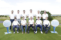 Athenry Golf Club team ahead of the final of the AIG Jimmy Bruen Shield Connacht Final, in Galway Bay Golf Club, Galway, Ireland. 12/08/2017<br /> Picture: Fran Caffrey / Golffile