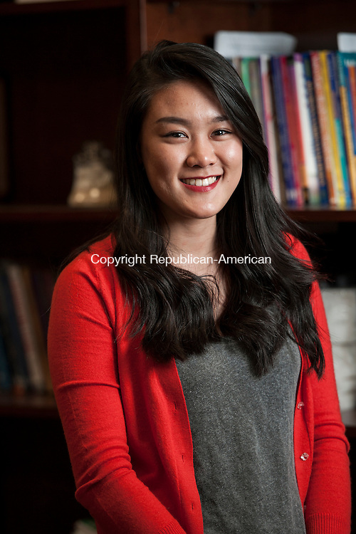 NAUGATUCK, CT-25 March 2015-032515EC01-  Heyi Cheng is a junior and Class of 2016 president at Naugatuck High School. Erin Covey Republican-American