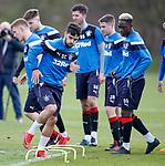 27.04.2018 Rangers training: Daniel Candeias