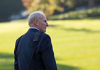 White House Chief of Staff John Kelly departs the White House in Washington, DC, November 3, 2017 with United States President Donald J. Trump for a multi-day trip to Hawaii and then on to Asia.<br /> Credit: Chris Kleponis / CNP /MediaPunch