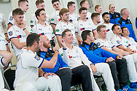 Picture by Allan McKenzie/SWpix.com - 02/04/2018 - Cricket - Yorkshire County Cricket Club Media Day 2018 - Headingley Cricket Ground, Leeds, England - Tim Bresnan takes photos as Yorkshire prepare to have their 2018 team photo taken.